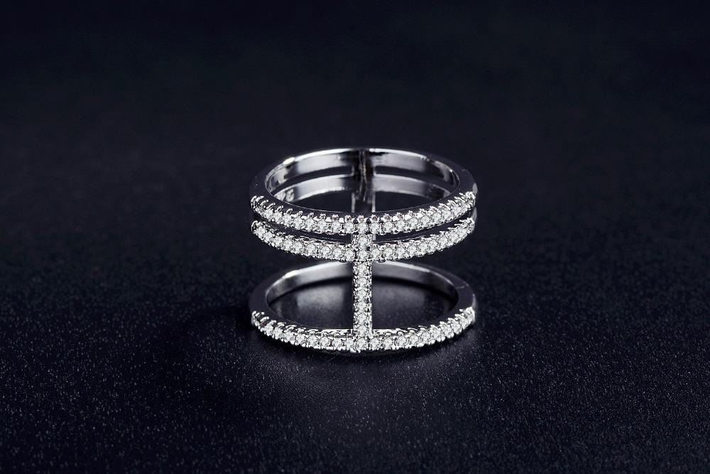 Fashion Solid Silver Ring