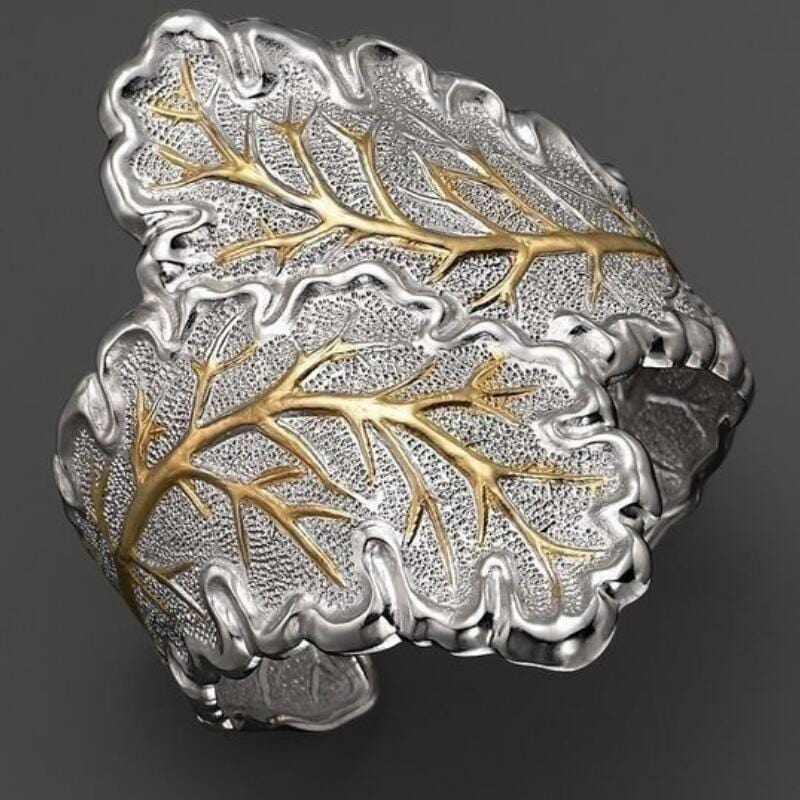 Fashion Tree of Life Unique Silver Vintage Rings