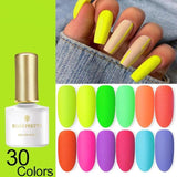 Fluorescent Lacquer Varnish Nail  Gel