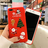 Santaclaus Elk Christmas iPhone