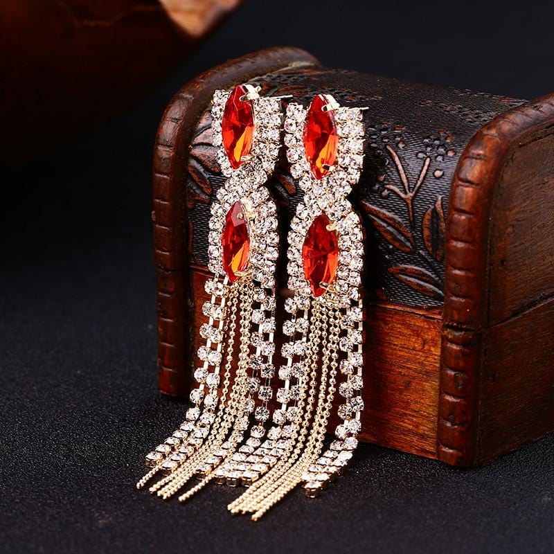 Unique Design Elegant Drop Earrings