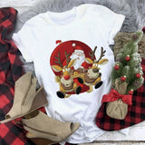 Happy Christmas Theme T-shirt