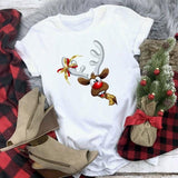 Cute Reindeer Christmas T-shirt