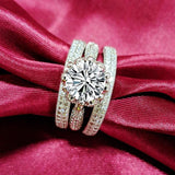 New Luxury Desgin Classic Wedding Band Rings