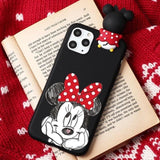 Mickey Mouse Thinking Cartoon iPhone Case