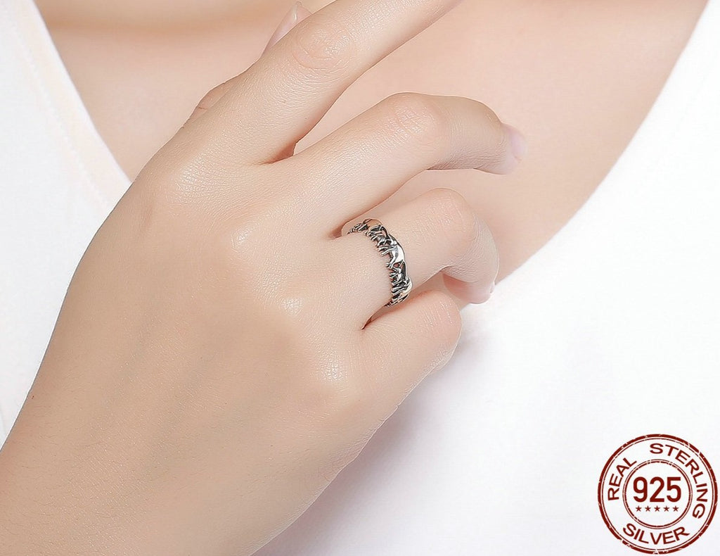 Ethnic Elephant March Vintage Ring