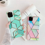 Marble Texture Cute iPhone Case