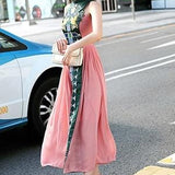 Vintage Style Chinese Style Long Dress