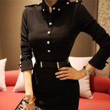 Elegant Turtleneck Black Bodycon Slim Party Dress