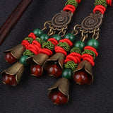 Ethnic Big Star Stone Vintage Earrings