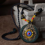 Handmade Braided Ethnic Necklace