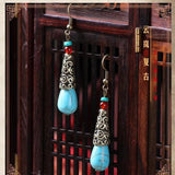 Vintage Ethnic Handmade Pierce Earrings