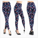 High Waist Printed Casual Sexy Leggings