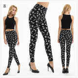 New High Waist Printing Casual Sexy Leggings