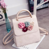 Korean Style Three-Dimensional Flowers Embellished Bag