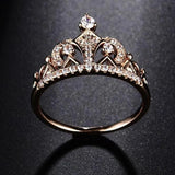 Crown Shape Unique Cute Ring