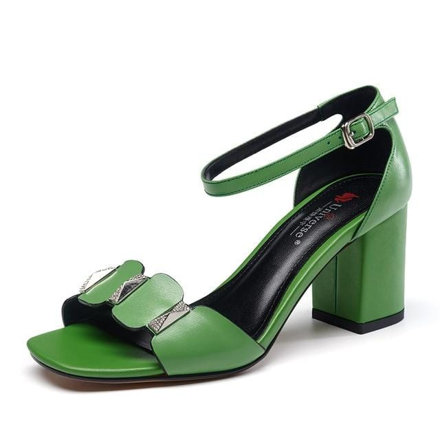 Block Heels Casual Ankle Strap Shoes