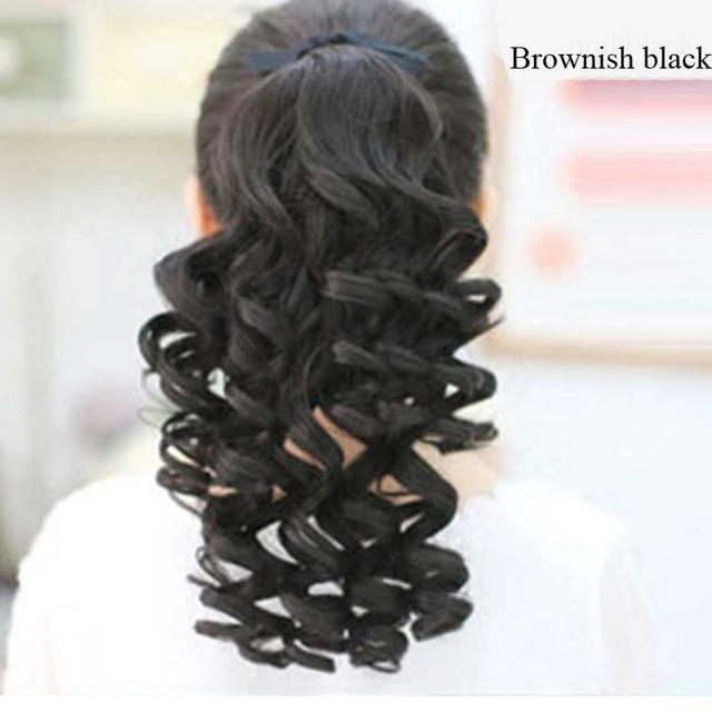 Curly Ponytails Natual Clip Hair Extensions