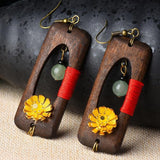 New Handmade Wooden Ethnic Women Earrings