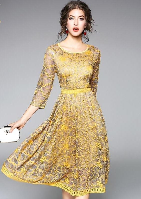 Summer Wear Casual Lace Dress