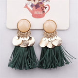 Vintage Bohemian Long Tassel Earrings