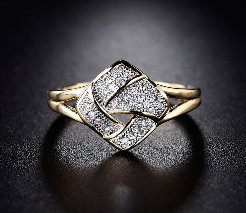 Twisted Style infinity Ring