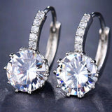 Crystal Stud Shinny Earrings