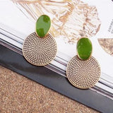 Vintage Retro Look Earrings