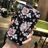 Flower Silicone Soft iPhone Case