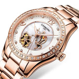 Luxury Automatic Waterproof Relogio Women Watch
