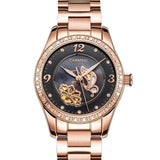 Luxury Automatic Waterproof Women Watch