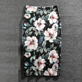 Summer Print Unique Casual Holiday Skirt