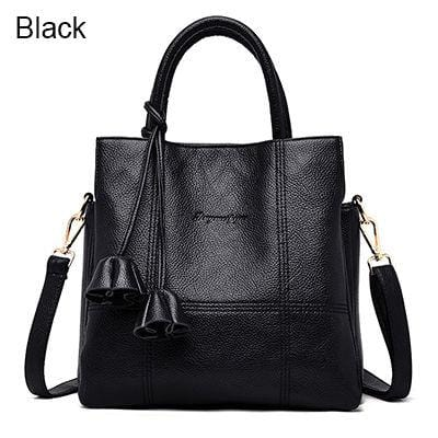 Unique And Elegant Casual Tote Bag Black