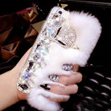 Furry Fun iPhone Case  White