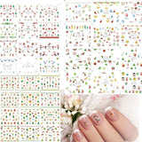 Fashion Xmas Snowflakes Nail Art Stickers