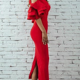 Unique Chic Style High Fashion Long Dress
