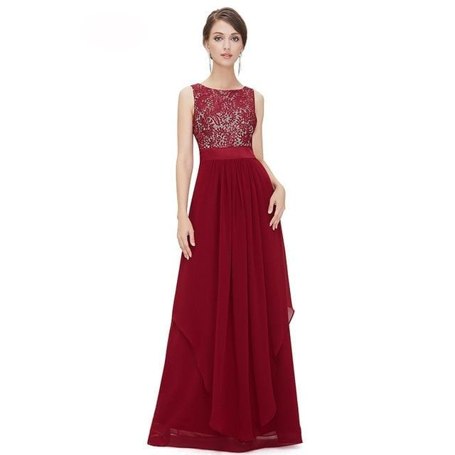 Elegant Evening Party Dress