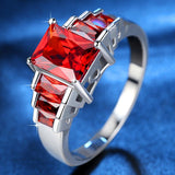 Elegant Red Ring Red