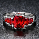 Elegant Red Ring