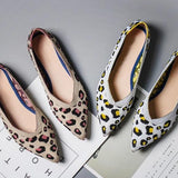 Leopard Print Casual Flats Shoes