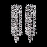 Unique Rhinestones Elegant Earrings