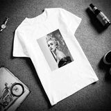 Casual O-Neck Art Printed Unisex T-Shirt