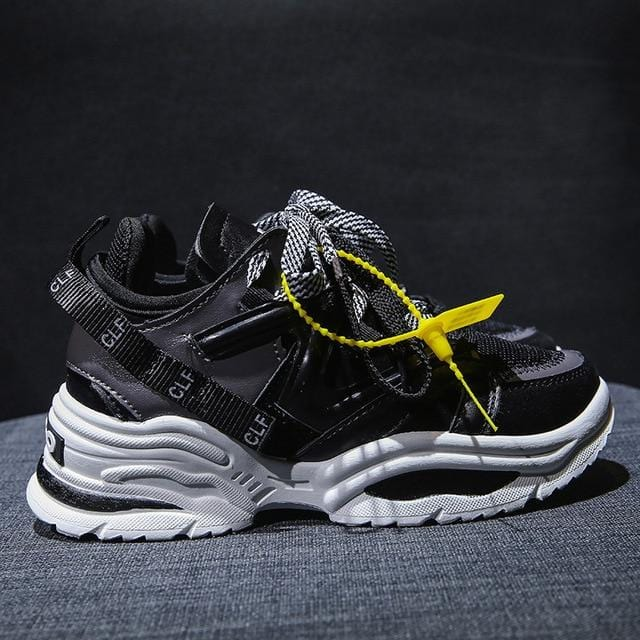 Vulcanize Chunky Stylish Sneakers Black