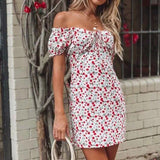 Off Shoulder Mini Cute Sundress