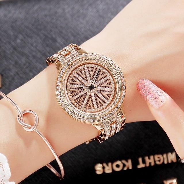 Diamond Shining Stone Wrist Watch