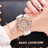 Colourful Rhinestone Full Diamond Crystal Wristwatches