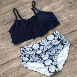 Ruffles High Waist Swimsuit