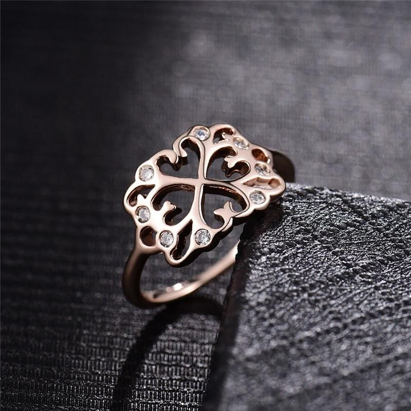 Rose Gold Cute Ring