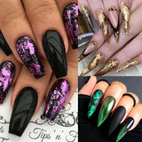 Irregular Mirror Chrome Sequins Nail Glitter