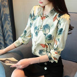 Chirpy Cute Print Shirt